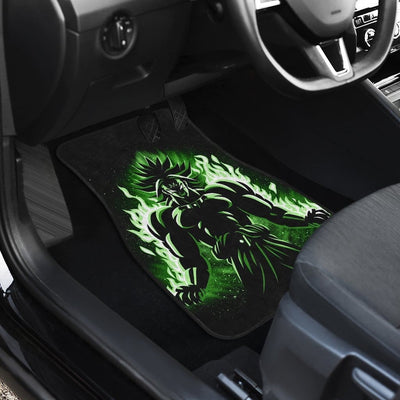 Broly Front And Back Car Mats (Set Of 4) - 99Shirt