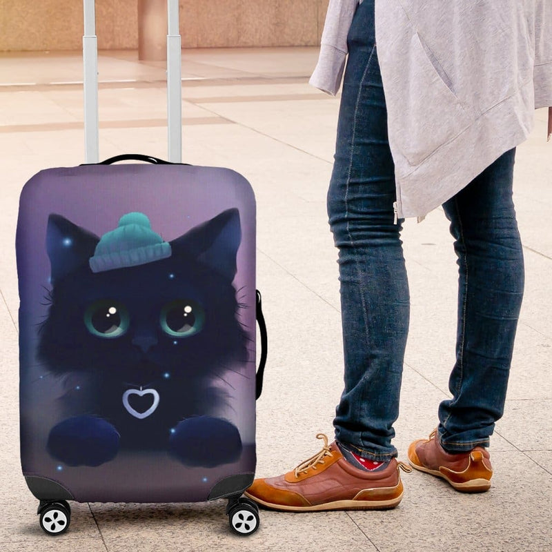 Cute Cat Luggage Covers - 99Shirt