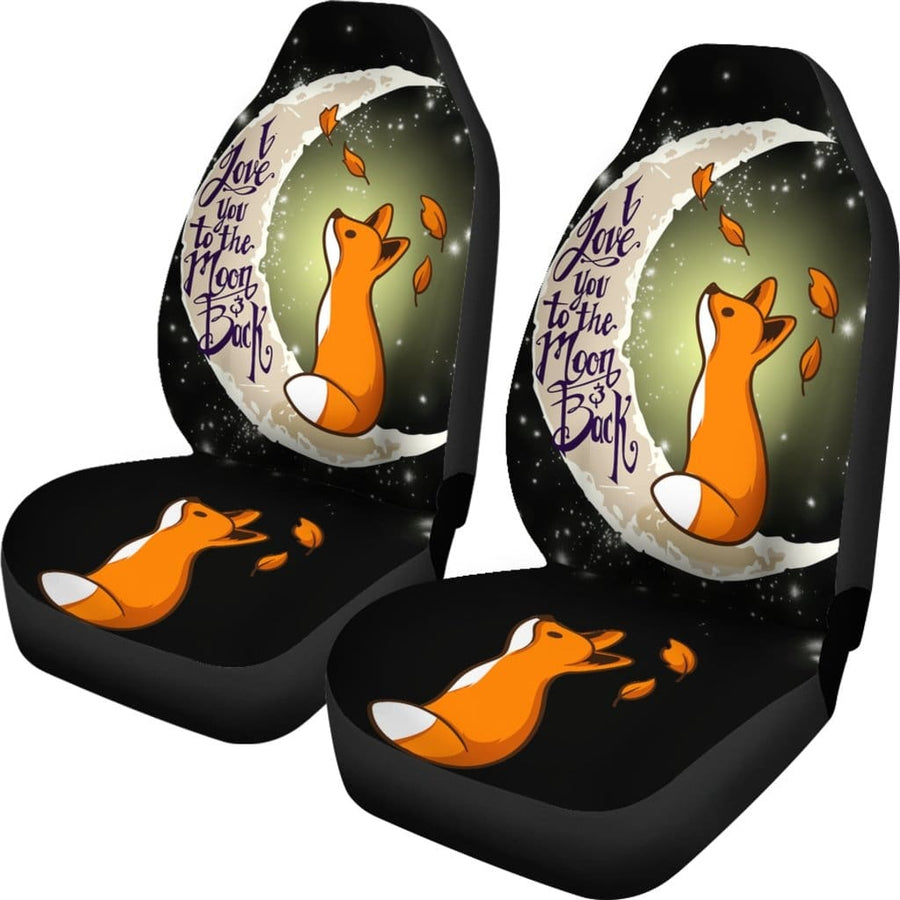 Cute Fox Car Seat Covers - Amazing Best Gift Idea