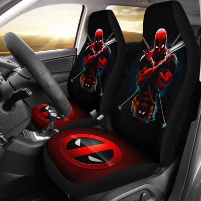 Deadpool Car Seat Covers 1 - 99Shirt