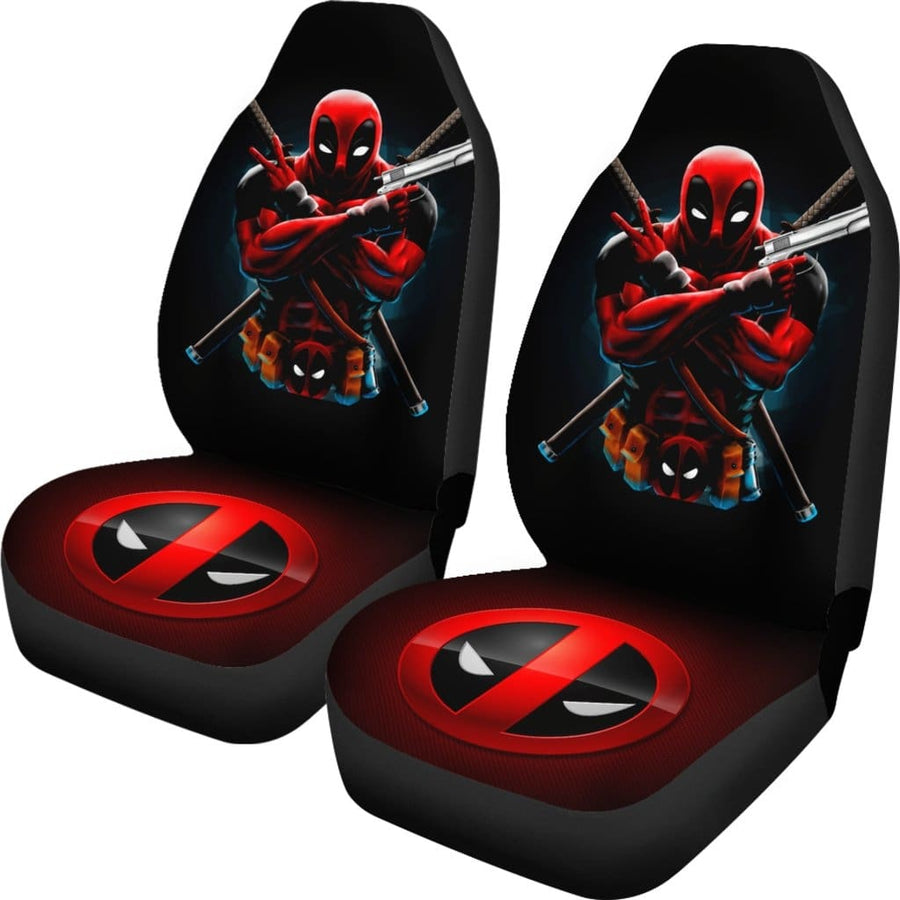 Deadpool Car Seat Covers 1 - Amazing Best Gift Idea