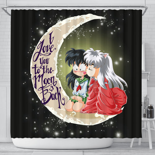 Inuyasha Kagome Shower Curtain