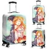 Kirito Asuna Sword Art Online Luggage Covers 3