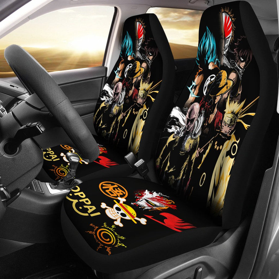 Anime Heroes 2020 Seat Covers