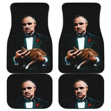 The Godfather Movie Poster for Fans Car Floor Mats