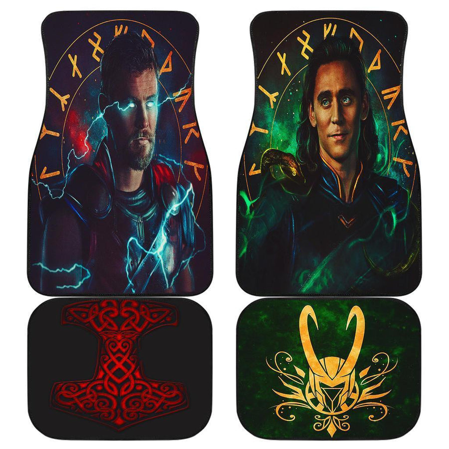 Thor Loki Avengers Marvel Car Floor Mats