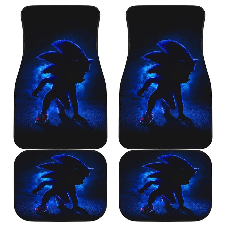 Sonic The Hedgehog 2020 Movie Car Floor Mats