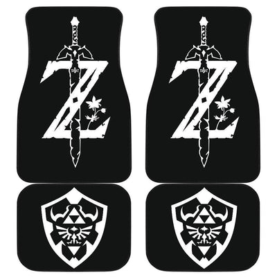 The Legend Of Zelda Front And Back Car Mats 2