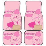 Piglet Cute in Pink theme Cartoon Disney Car Floor Mats