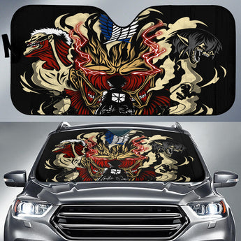 Attack On Titans Auto Sun Shades 1