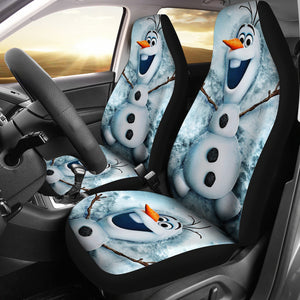 olaf-snowman-car-seat-covers