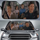 Step Brother Kiss Funny Car Sun Shades