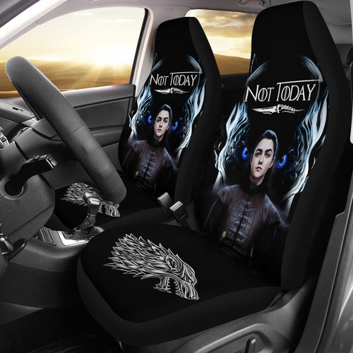 Arya vs Night King Car Seat Covers
