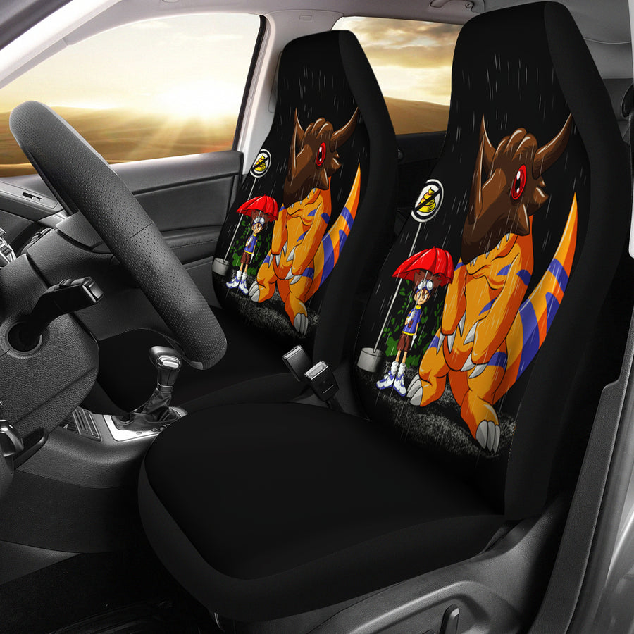 My Neighbor Digimon Seat Cover
