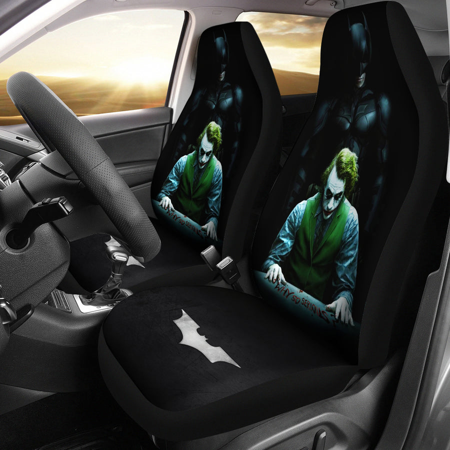 Batman Vs Joker The Dark Knight Seat Cover