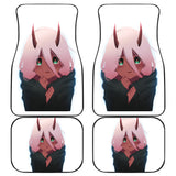 Zero Two Darling In The Franxx Front And Back Car Mats