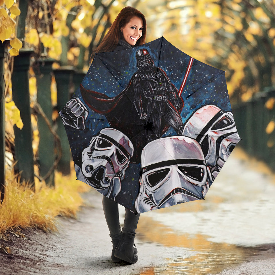 Darth Vader And Stormtroopers Umbrella