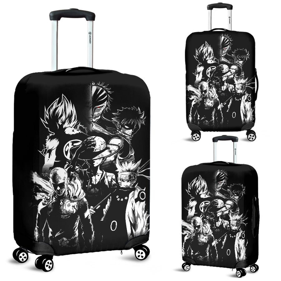 Anime Heroes Luggage Covers