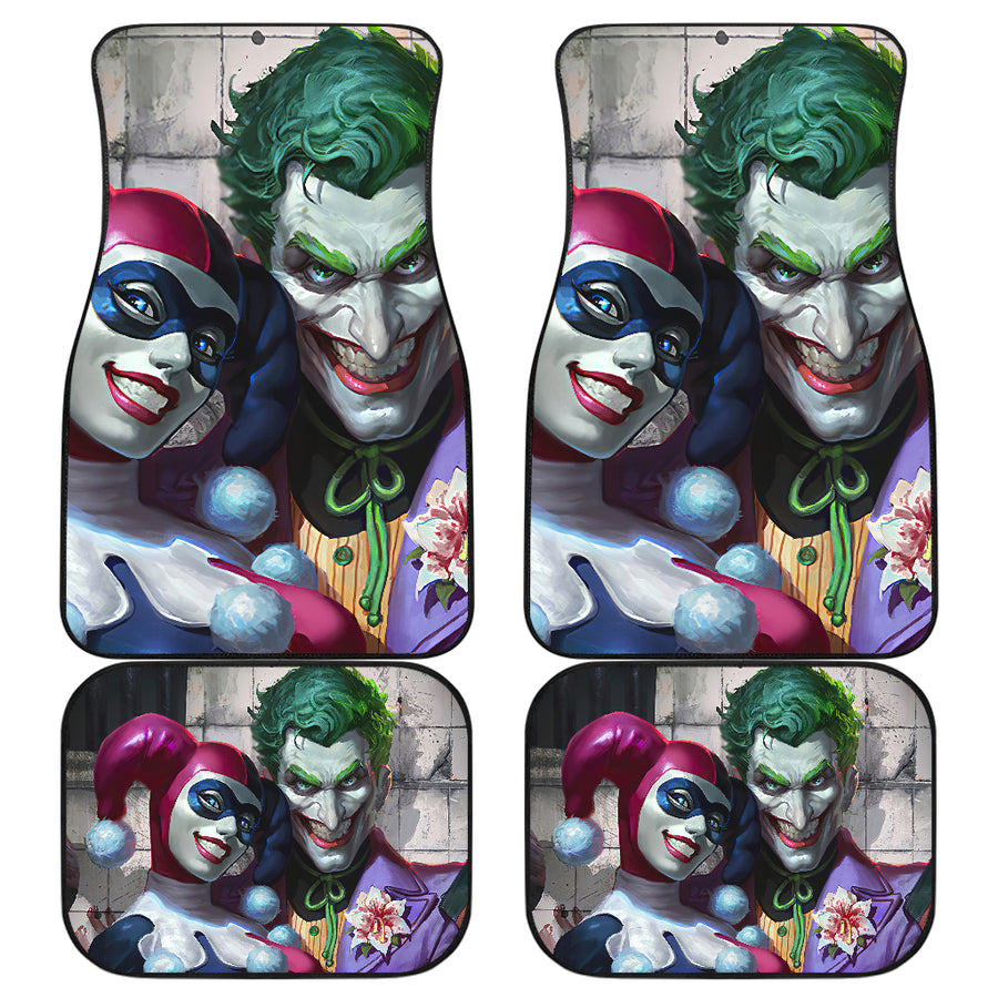 Joker Harley Quinn Car Mats  car accessories car decor