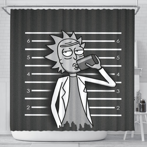 Rick and Morty Shower Curtain 9