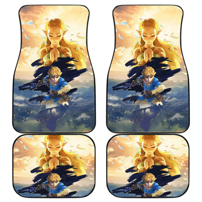 The Legend Of Zelda Front And Back Car Mats 36
