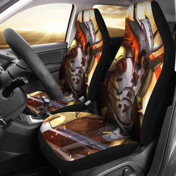 Wargreymon Digimon Car Seat Covers 2