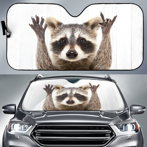 Raccoon Car Sun Shades