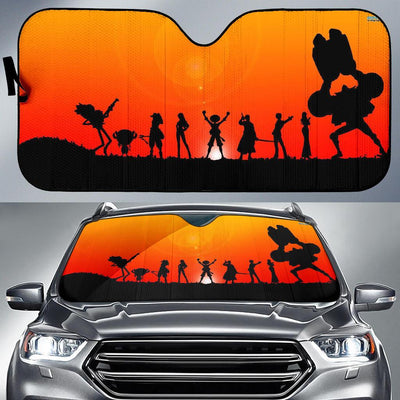 One Peace Sunset Car Sun Shade