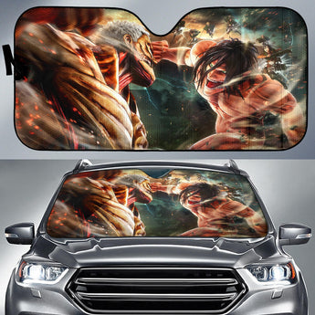 Attack On Titans Auto Sun Shades