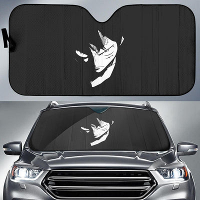 Luffy One Peace Anime Car Sun Shade