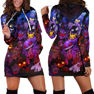 Pokemon Ghost Hoodie Dress
