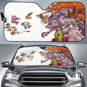 Digimon Evolution Sun Shade