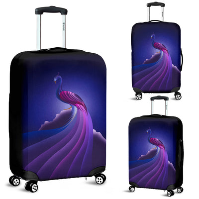 Peacock Luggage Covers