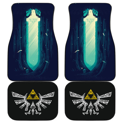 The Legend Of Zelda Front And Back Car Mats 27