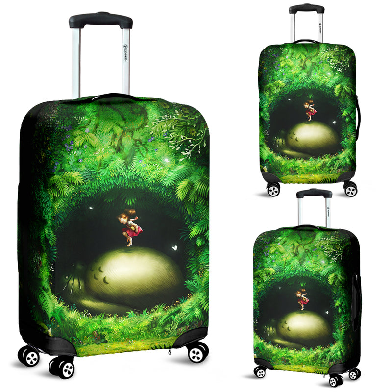 Totoro Sleep Luggage Covers