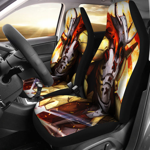 Wargreymon Digimon Car Seat Covers