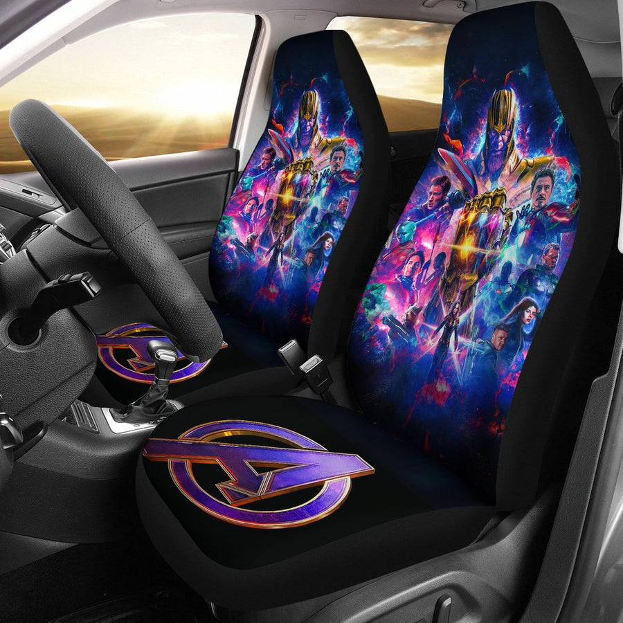 Avengers Endgame Seat Covers