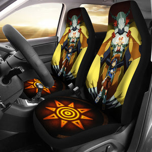 Wargreymon Digimon Car Seat Covers 1