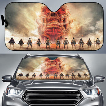 Attack On Titans Fight Auto Sun Shades