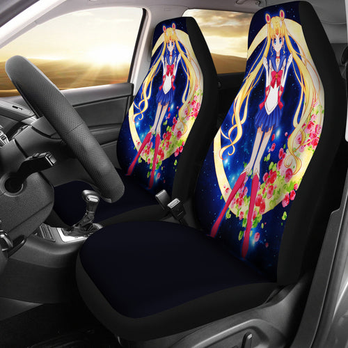 Sailor Moon Car Seat Covers 1
