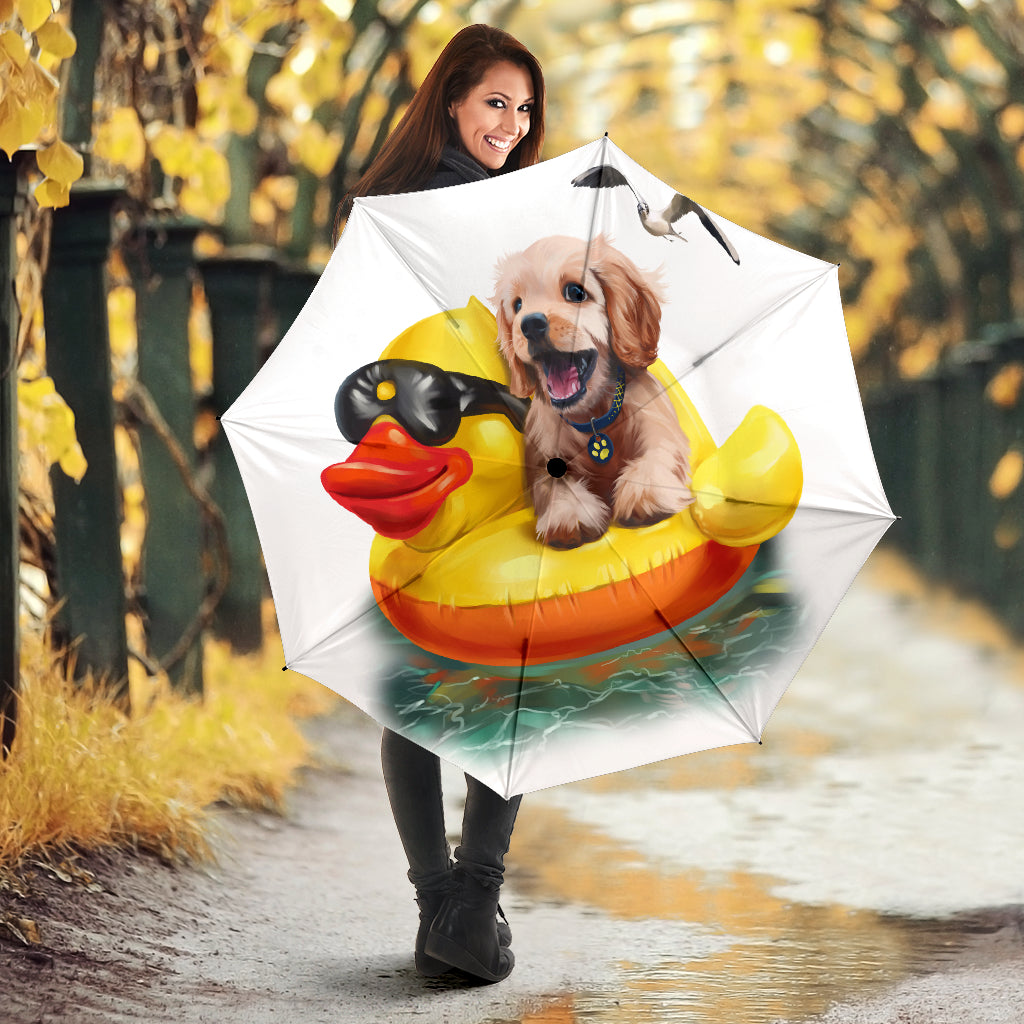 Dog And Duck Umbrella