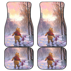 Winnie The Pooh Front And Back Car Mats 3 (Set Of 4)
