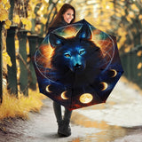 Wolf Galaxy Umbrella