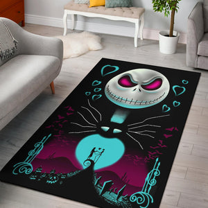 Nightmare Before Christmas Area Rug