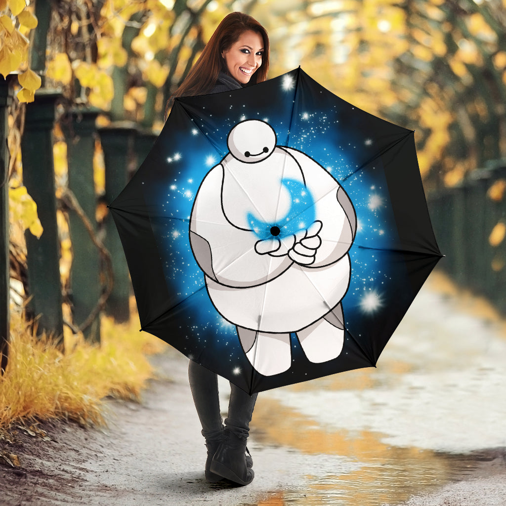 Baymax And Moon Cute Umbrella