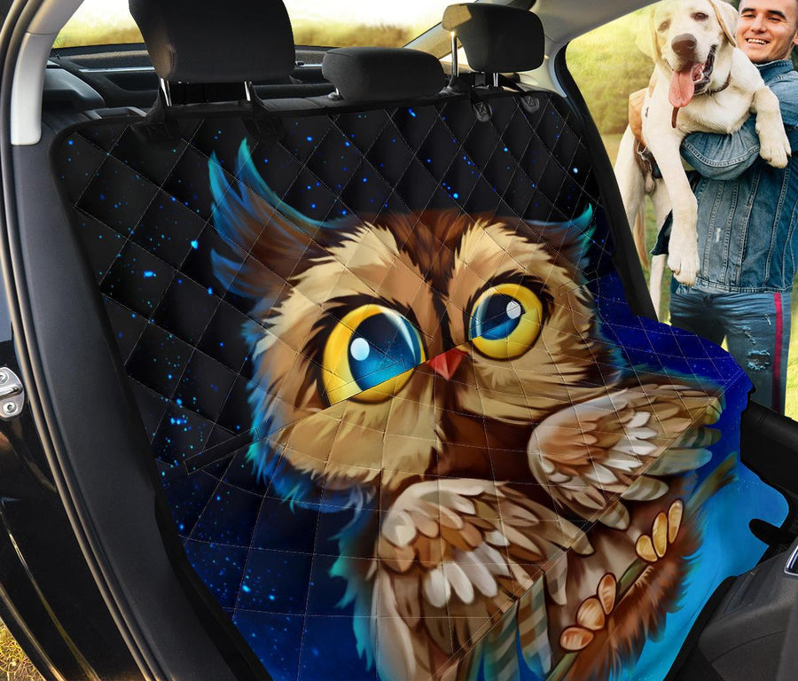 cute owl pet seat cover