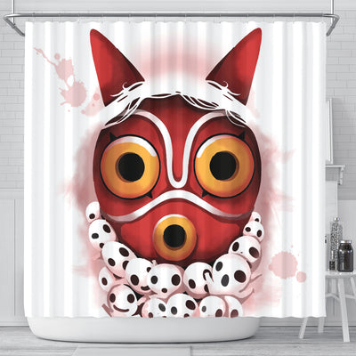 Princess Mononoke Shower Curtain