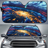 Anime Girl Horizon Car Sun Shades