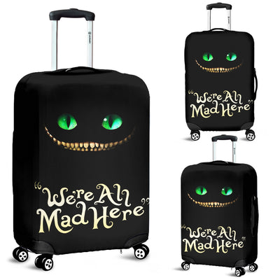 Cheshire Cat Alice In Wonderland Luggage Covers