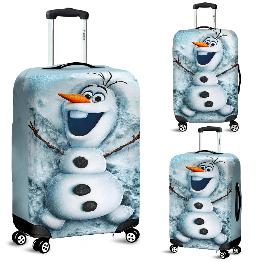 Olaf Snowman Luggage Covers